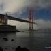 Fog and Steel - Golden Gate Bridge, California