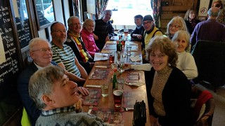 Brighton & Hove Clarion ride Sunday 19-02-2017 Lewes to Ringmer circular.