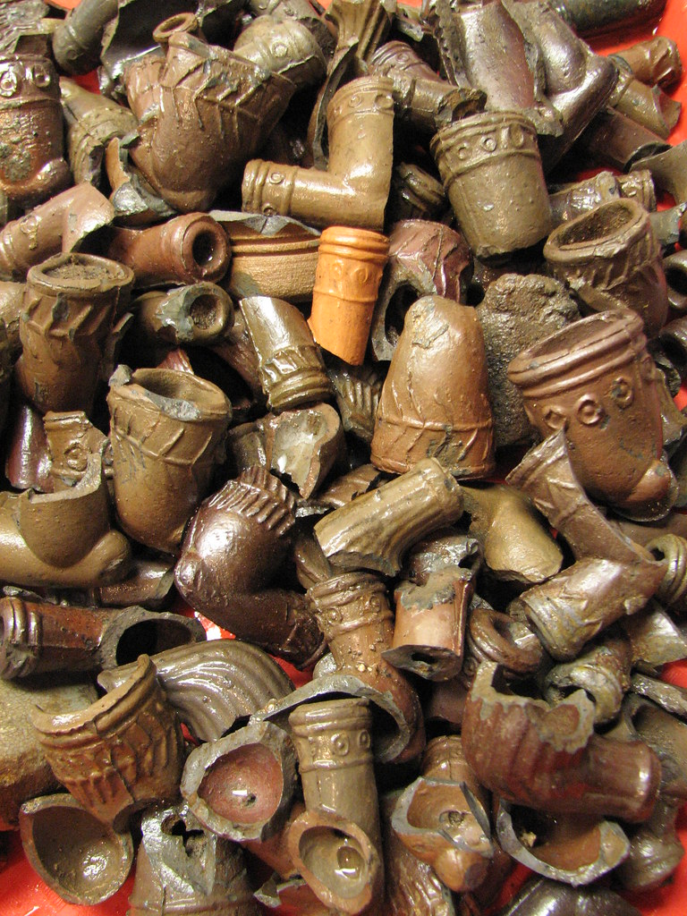 Fire Clay Pipes : Point pleasant pottery circa flickr
