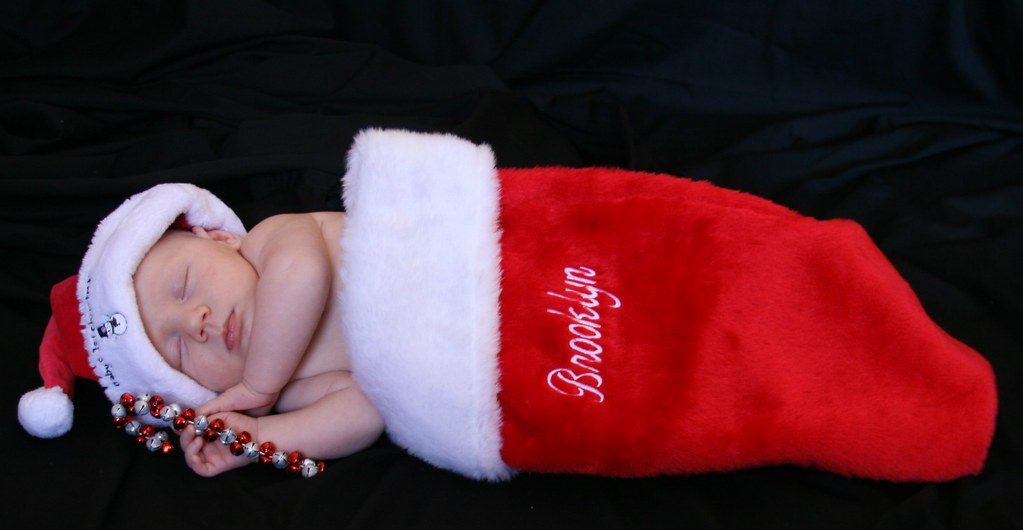 christmas stocking baby brooklyn s first christmas flickr