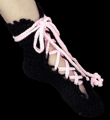 Ballerina Slippers Crochet Pattern Find This Design At Flickr