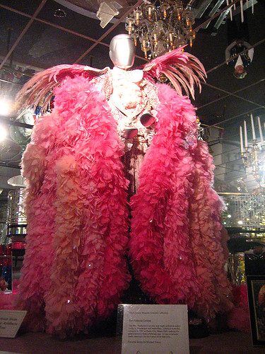 New Rolls Royce >> Liberace costume | Made from 200+ pounds of dyed turkey ...