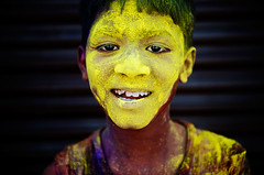 Yellow Faced Boy | by © Poras Chaudhary