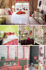 Pink and Green Bedrooms | by Jennifer Perkins