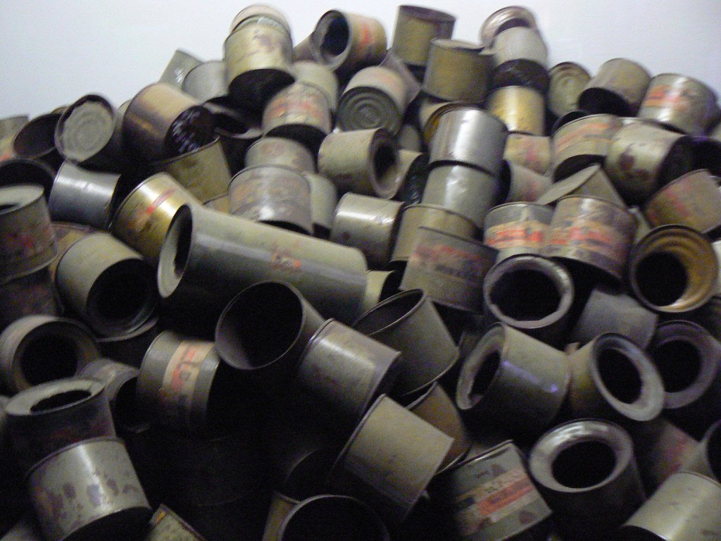 Used zyklon b canisters part of the 39 exhibition 39 at for B b com