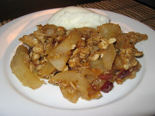 Pear Crisp | by Kevin - Closet Cooking