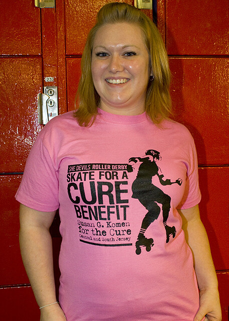 b1fc7ce14503 Skate for the Cure Shirt | Penn Jersey She Devils Skate for … | Flickr
