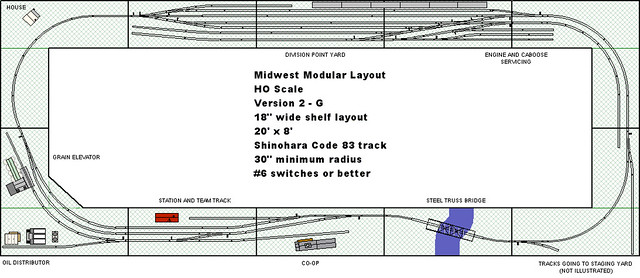 Midwest Modular Ho Scale Layout Design Version 2 G Flickr