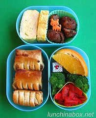 Frozen appetizer bento lunch for preschooler #1 | by Biggie*