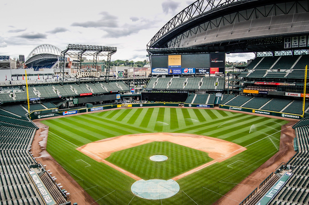 View from Home Plate at Safeco Field - Seattle Mariners Ba ...