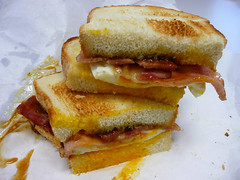 Bacon and egg sandwich | by The Food Pornographer