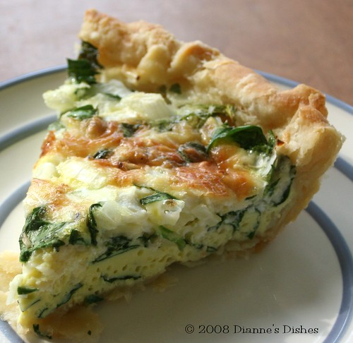 Spinach Gruyère Quiche | For this recipe and more please vis ...