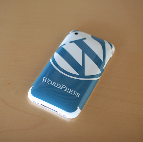 Iphone Skin: WordPress May 2009 | by Alex Walker