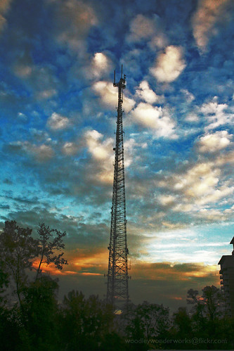 television transmission tower | by woodleywonderworks