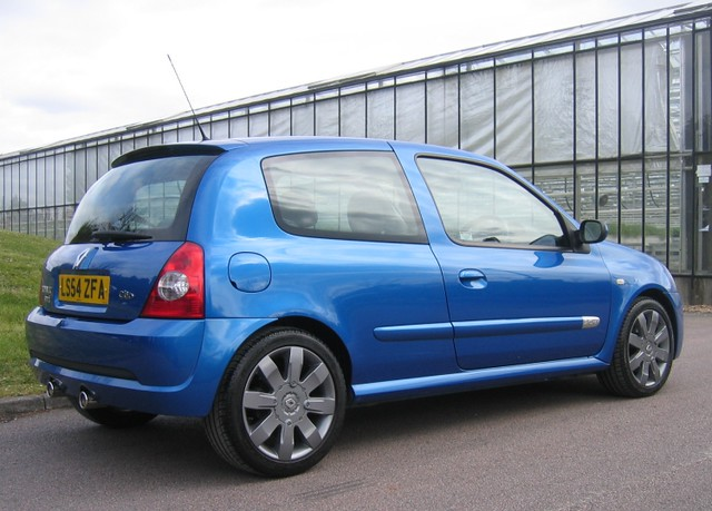 2004 Renault Clio Renaultsport 182 Cup in Artic Blue  Flickr