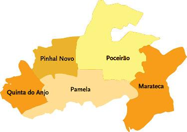 palmela mapa Concelho de Palmela | Mapa das freguesias | Jorge Bastos | Flickr palmela mapa
