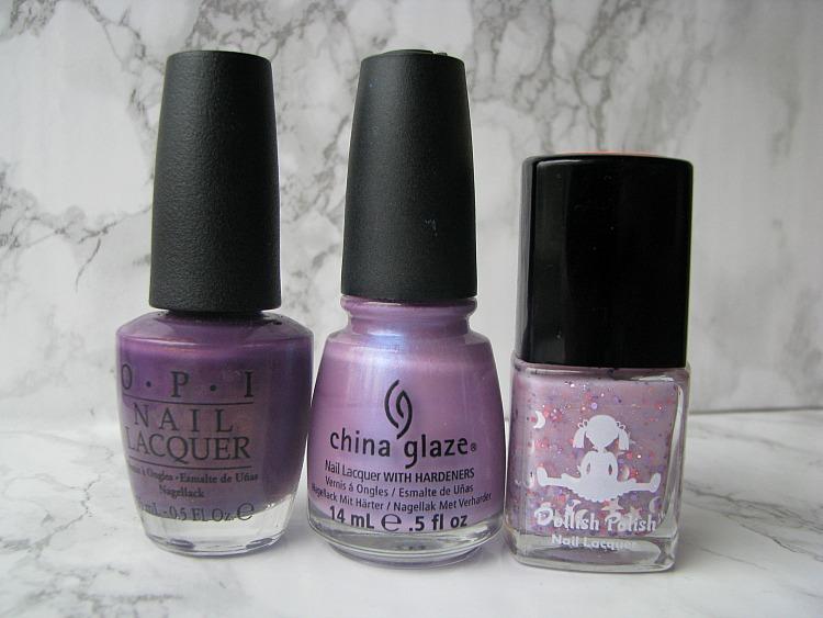 many purple