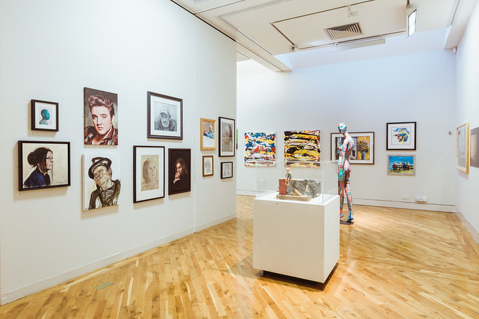 Ferens Art Gallery Open Exhibition. Photo: © Chris Pepper