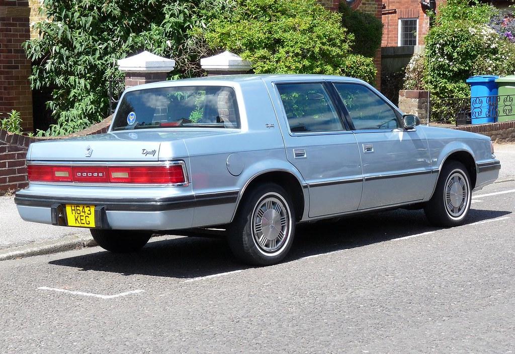 Chrysler Dodge Dynasty 1991 Spotted in Faversham Kent U K