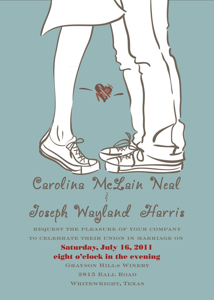 Wedding | Wedding invitation designed for friends. | ~Esant~ | Flickr