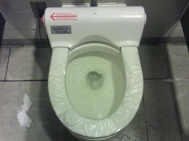 Excellent Automatic Toilet Seat Cover Dispenser I Think The World Fi Inzonedesignstudio Interior Chair Design Inzonedesignstudiocom
