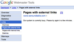 Google Link Troubles | by rustybrick