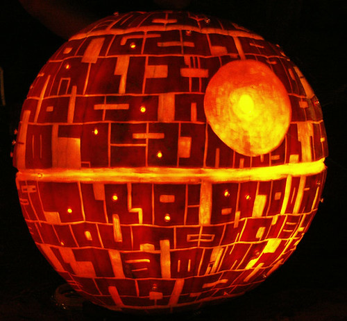 deathstar pumpkin | by F. Tronchin