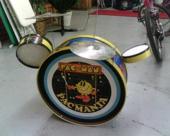 pacman kid's drumset | by gluechunk