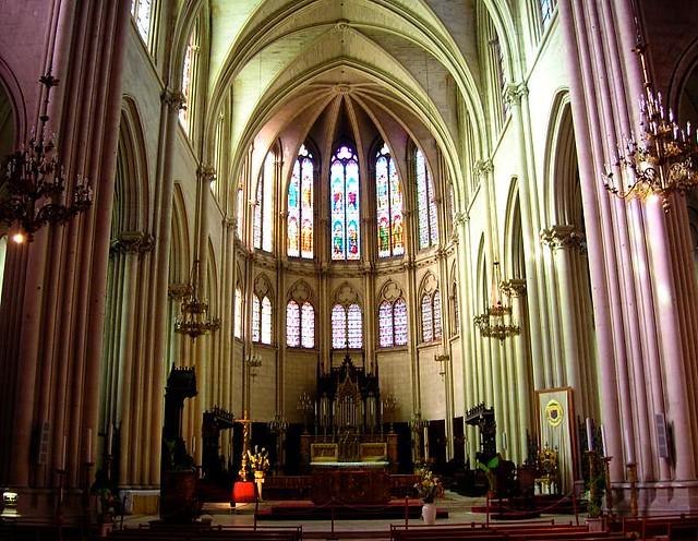 Coeur de la cath drale saint pierre montpellier france - La compagnie des comptoirs montpellier ...