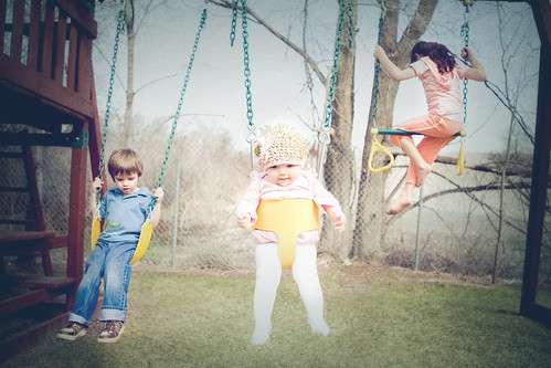 spring swing | by threelittlebirds {Mindy J}