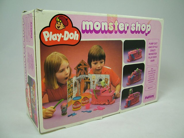 play doh monster shop photo of palitoy play doh monster sh flickr. Black Bedroom Furniture Sets. Home Design Ideas