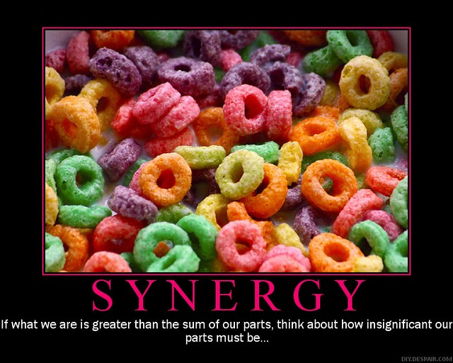Synergy Demotivator | Picture by Zanastardust, of flickr ...