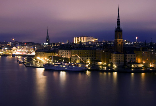 Stockholm by Night | by diesmali