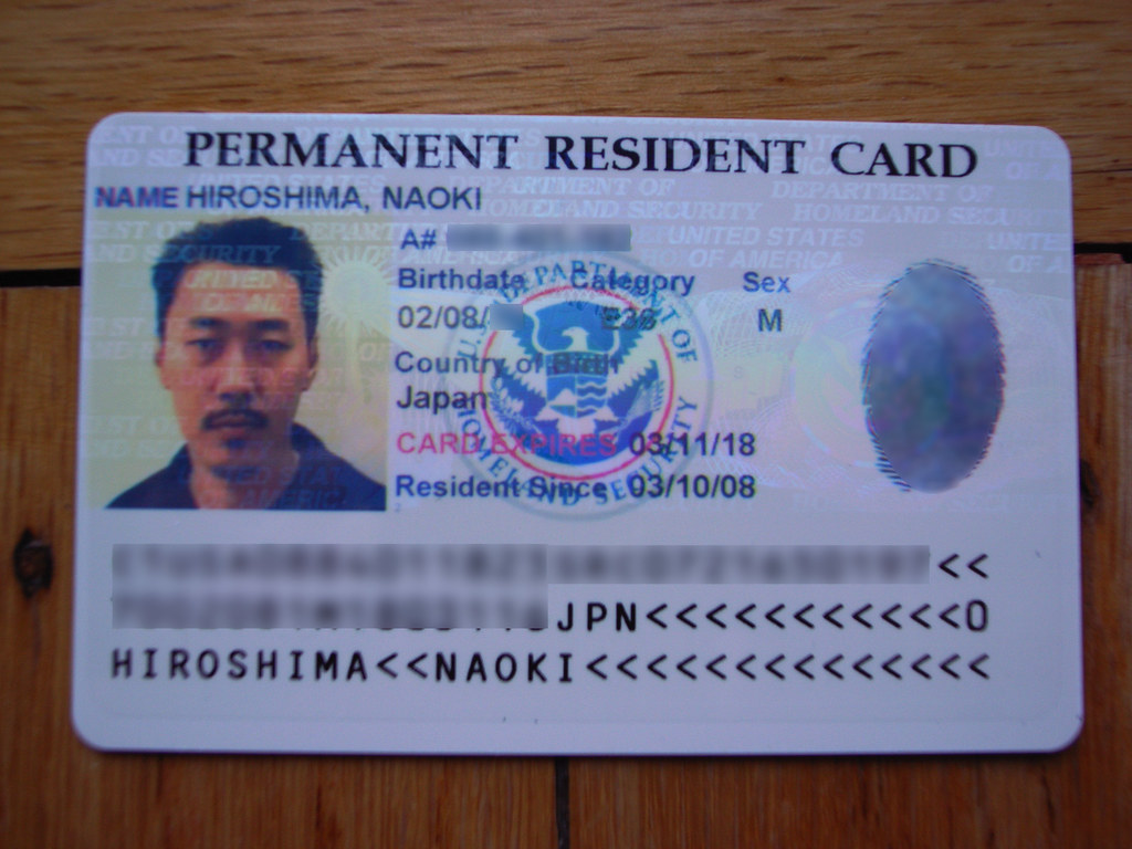 Permanent Resident Card Name Change Status For Travelling