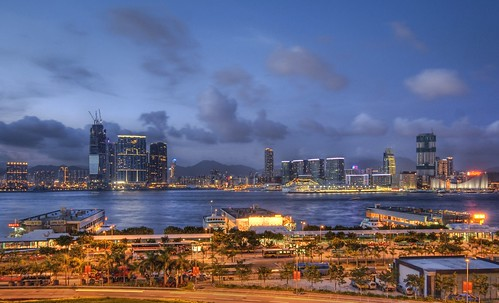Shooting Across the Straits of Hong Kong at Dusk | by Stuck in Customs