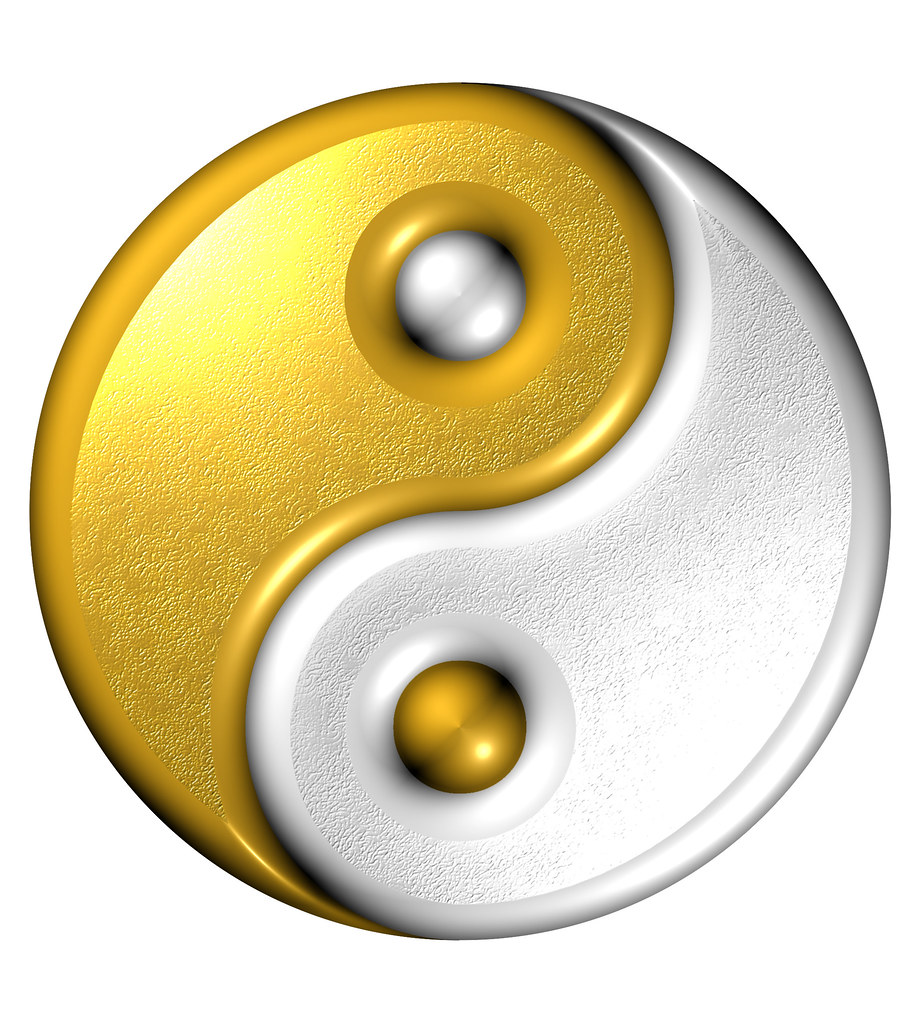 Yin Yang Computer Generated Image Yin Yang Image Gn Flickr