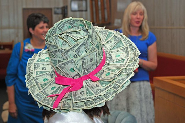 how to make a money hat