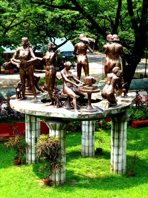 Restored Napoleon Abueva National Artist For Sculpture