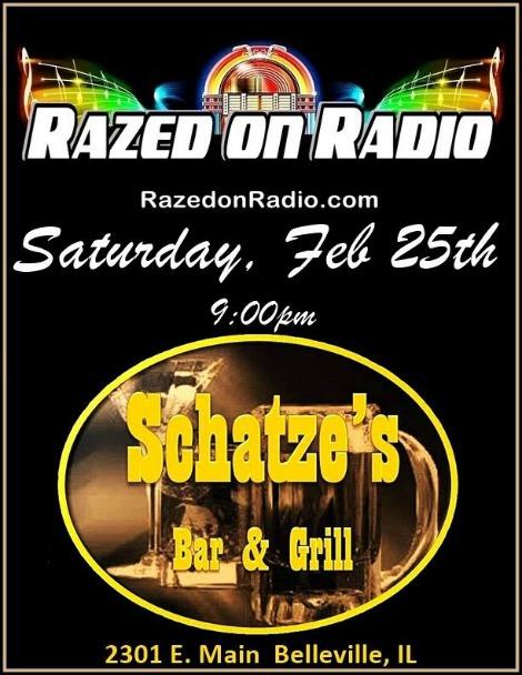 Razed On Radio 2-25-17