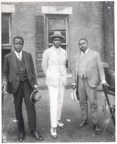 Marcus Garvey And The King Of Dahomey Marcus Garvey With