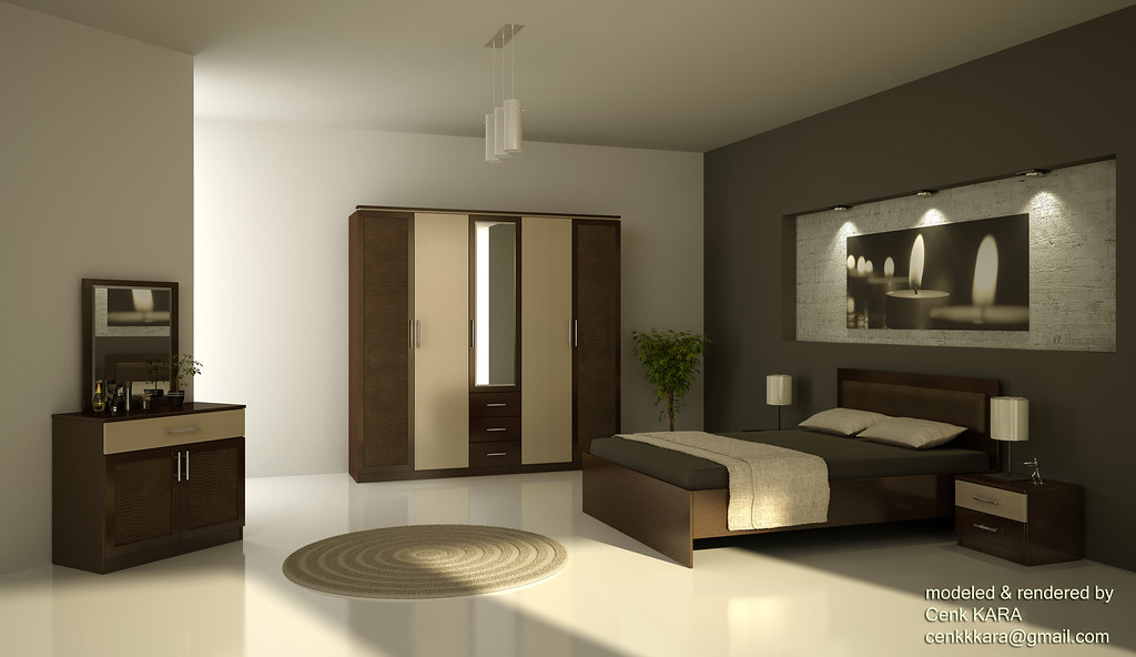 ... Selena   Bedroom Furniture Rendering | By Cenk Kara   Designer