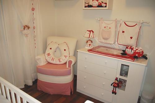 Decoração Quarto Joaninha 2  Atelier Pontinhos Mágicos  Flickr