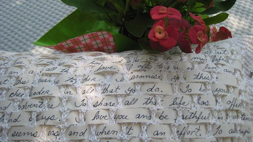 poetry pillow | by anne_dillingham