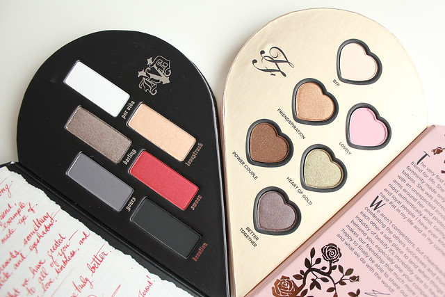 Too Faced x Kat Von D Better Together Ultimate collection review and swatches