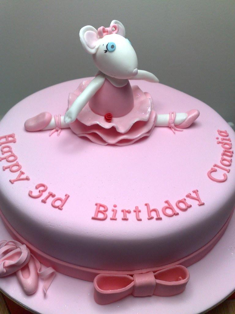 Angelina Ballerina Cake Tania Fressanges Flickr