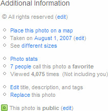 Flickr UI: Additional Information / 2008-01-04 / SML Screenshots | by See-ming Lee (SML)