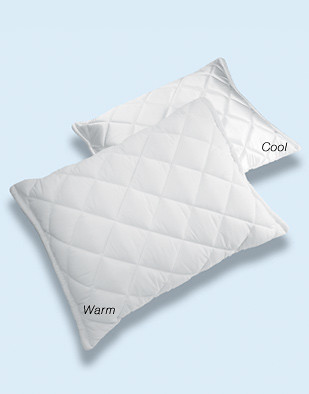 Sharper Image Traditional Memory Foam Pillow : Sharper Image Contour-Foam Ultima Warm & Cool Pillow Flickr