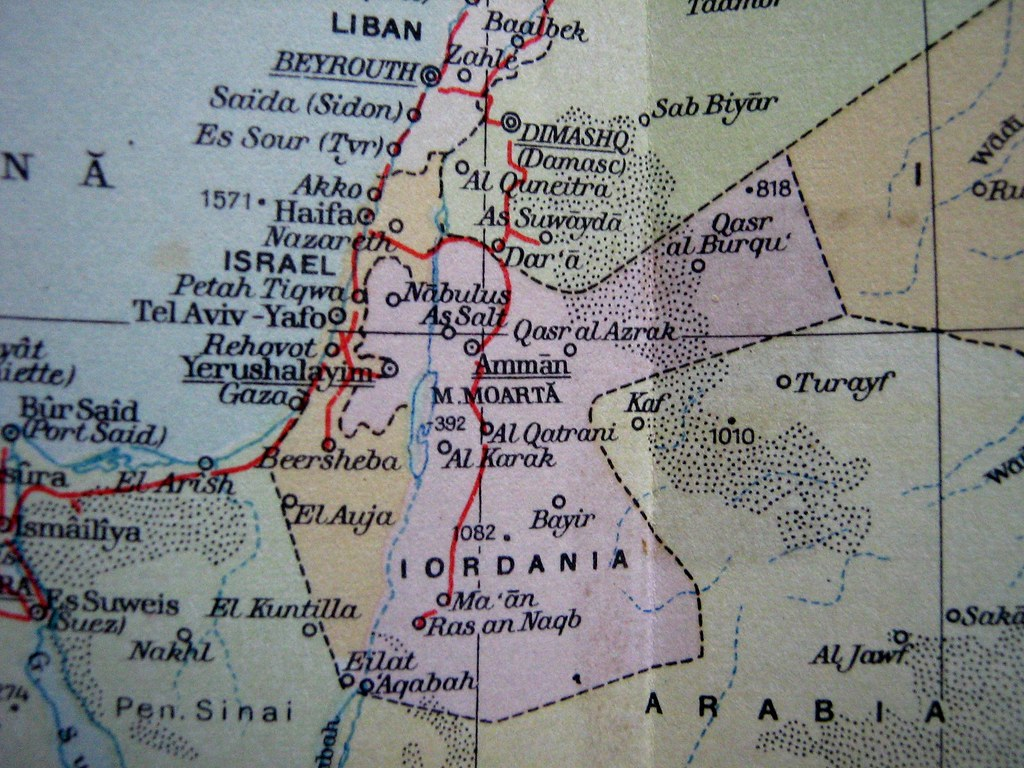Israel sinai peninsula and jordan 1967 map from a romani flickr sinai peninsula and jordan 1967 by codgabriel gumiabroncs Image collections