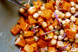 butternut chickpea tahini salad | by smitten kitchen