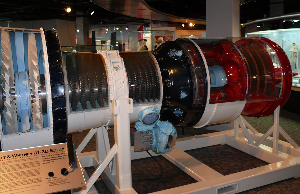 Pratt Amp Whitney Jt3d Engine American Airlines Museum Dal